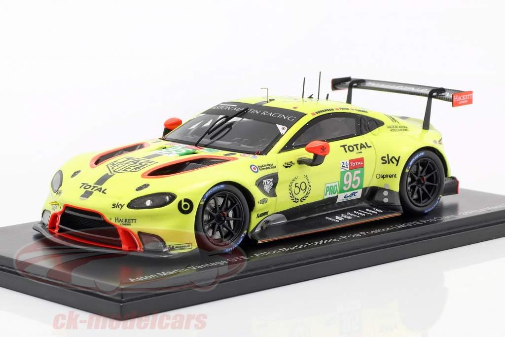 Aston Martin Vantage GTE #95 Pole Position LMGTE Pro 24h LeMans 2019 1:43 Spark