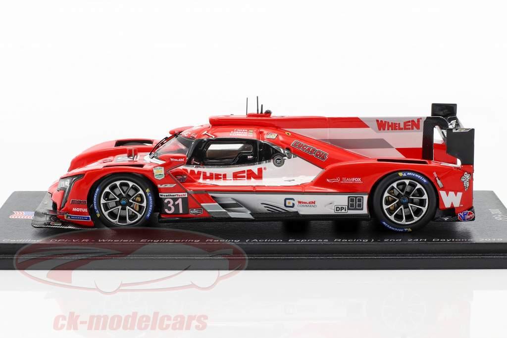 Cadillac DPi-VR #31 2e 24h Daytona 2019 Nasr, Curran, Derani 1:43 Spark