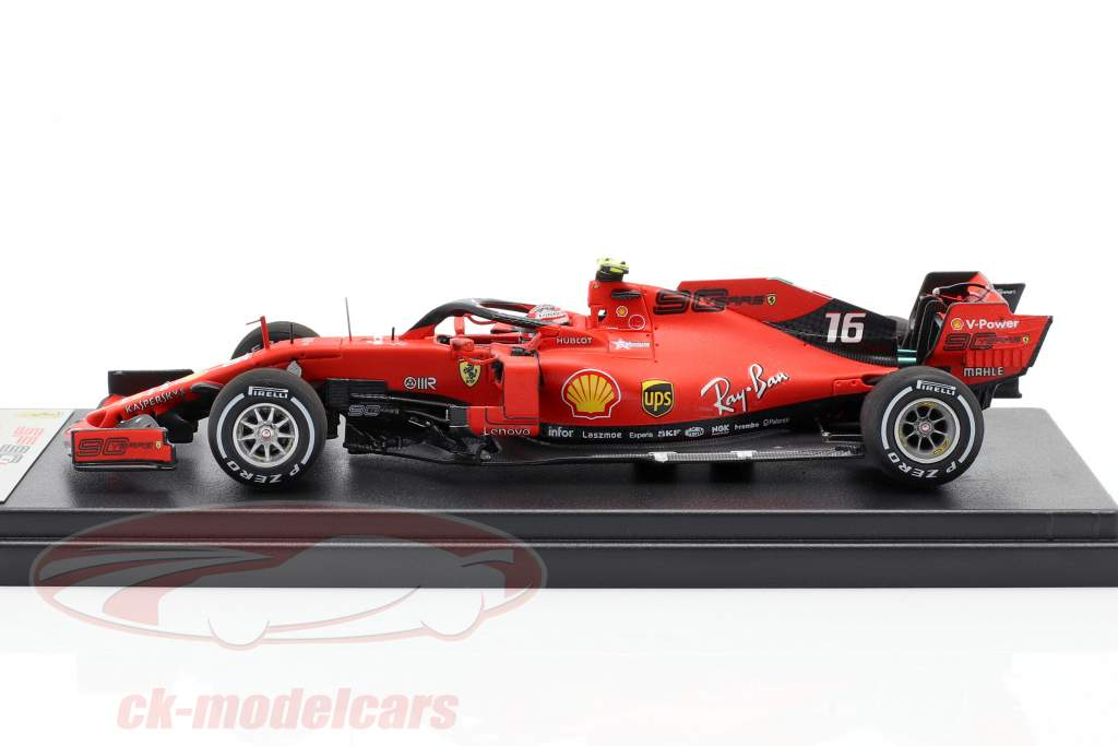 Charles Leclerc Ferrari SF90 #16 Ganador Italiano GP Formula 1 2019 1:43 LookSmart