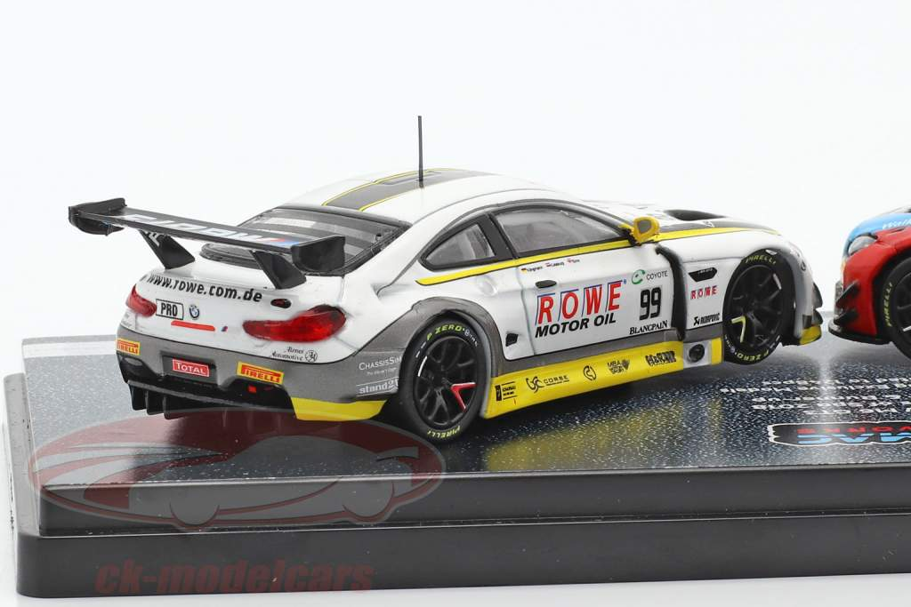 2-Car Set BMW M6 GT3 #99 & #34 Doble ganador 24h Spa 2018 1:64 Tarmac Works
