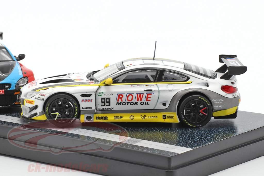 2-Car Set BMW M6 GT3 #99 & #34 Vencedor duplo 24h Spa 2018 1:64 Tarmac Works