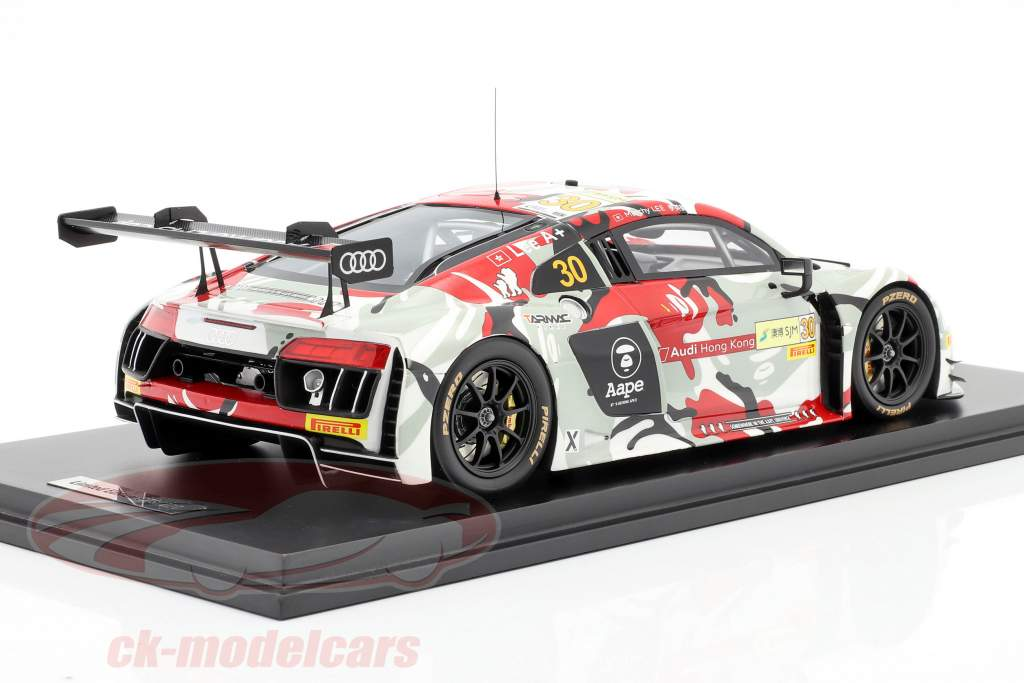 Audi R8 LMS #30 FIA GT World Cup Macau 2015 Marchy Lee 1:18 Tarmac Works