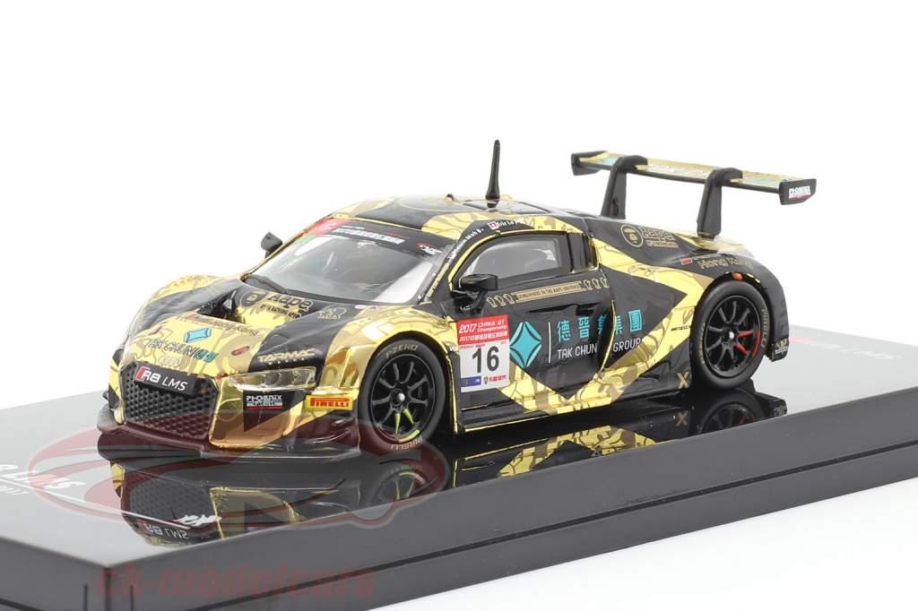 Audi R8 LMS #16 China GT Championship 2017 Moh, Lo 1:64 Tarmac Works