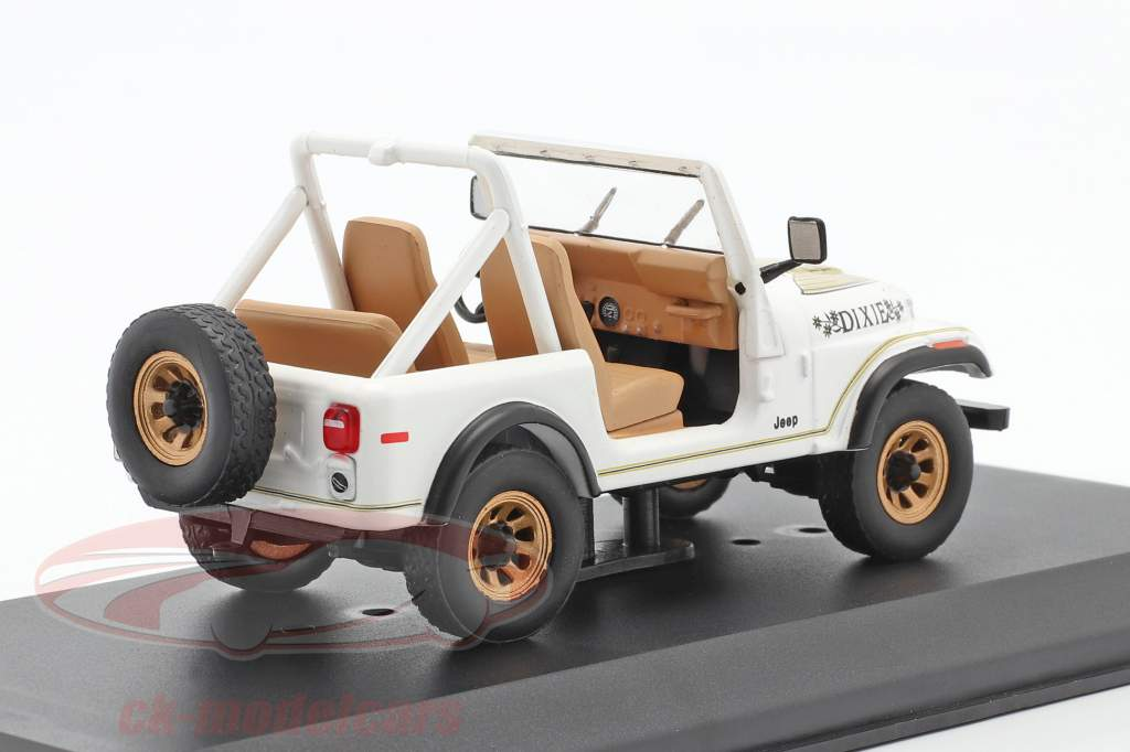 Jeep CJ-7 Golden Eagle Baujahr 1979 weiß / gold 1:43 Greenlight