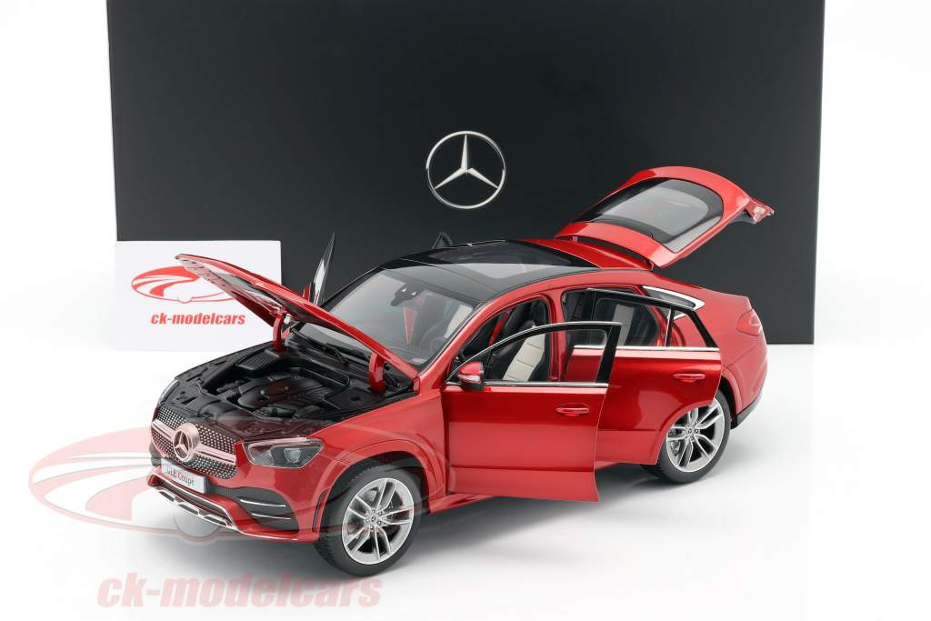Mercedes-Benz GLE Coupe (C167) designo jacinto rojo metálico 1:18 iScale