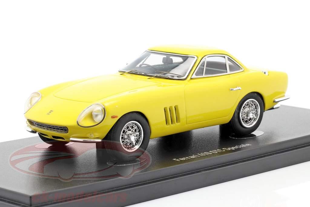 Ferrari 410 GTC Speciale Ano de construção 1987 amarelo 1:43 AutoCult