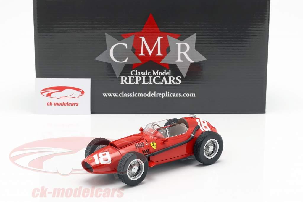 Phil Hill Ferrari Dino 246 #18 3rd Italian GP Formel 1 1958 1:18 CMR