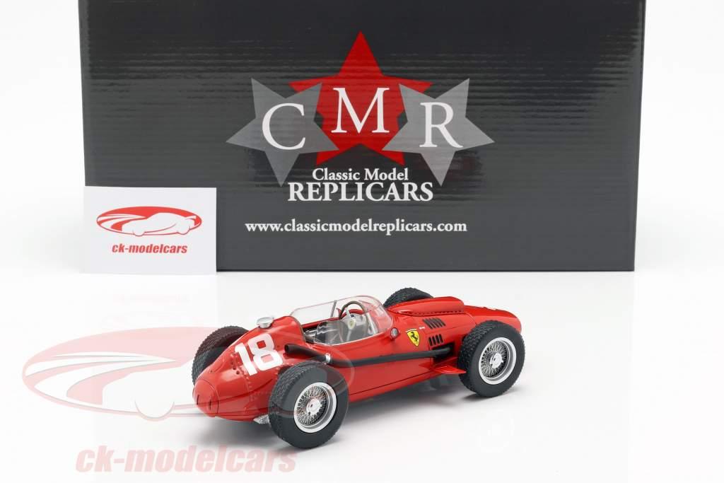 Phil Hill Ferrari Dino 246 #18 3ro Italiano GP Formula 1 1958 1:18 CMR