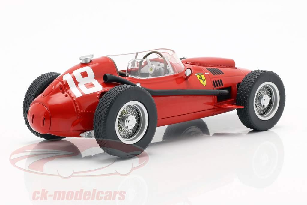 Phil Hill Ferrari Dino 246 #18 3. italiensk GP formel 1 1958 1:18 CMR