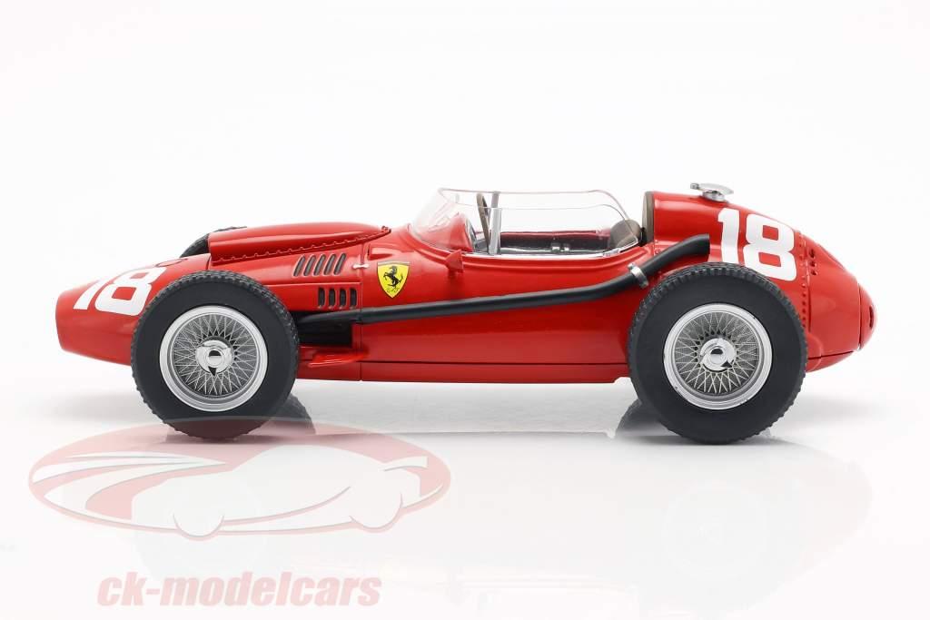 Phil Hill Ferrari Dino 246 #18 3e Italiaans GP Formule 1 1958 1:18 CMR