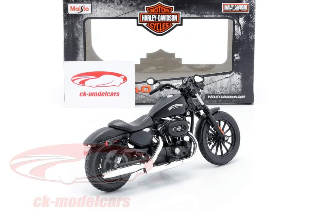 Harley Davidson Sportster Iron 883 Baujahr 2014 schwarz 1:12 Maisto