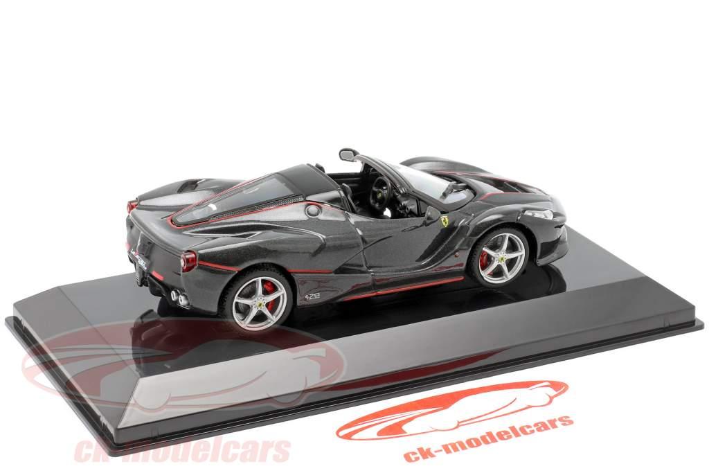 Ferrari LaFerrari Aperta Année de construction 2016 noir 1:43 Altaya