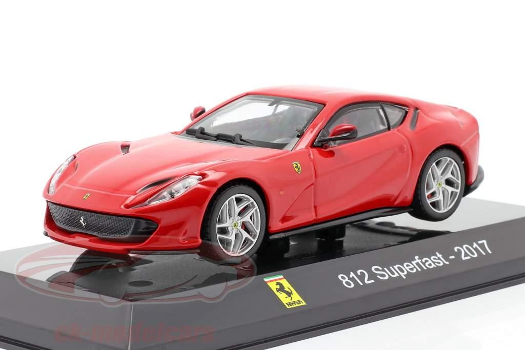 Ferrari 812 Superfast Año de construcción 2017 rojo 1:43 Altaya