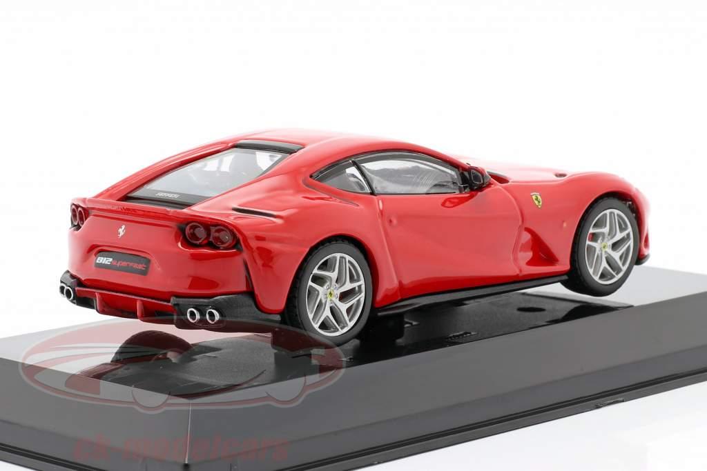 Ferrari 812 Superfast Bouwjaar 2017 rood 1:43 Altaya