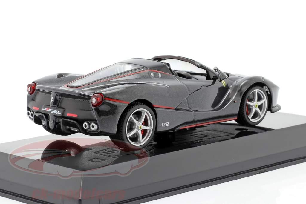 Ferrari LaFerrari Aperta Byggeår 2016 sort 1:43 Altaya