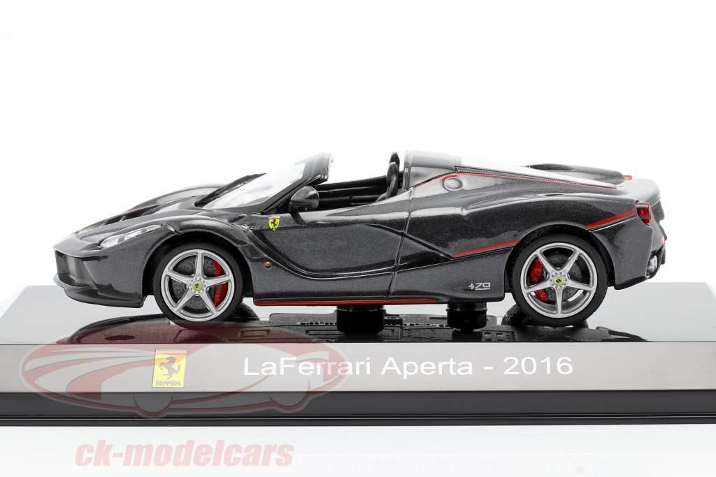 Ferrari LaFerrari Aperta Año de construcción 2016 negro 1:43 Altaya