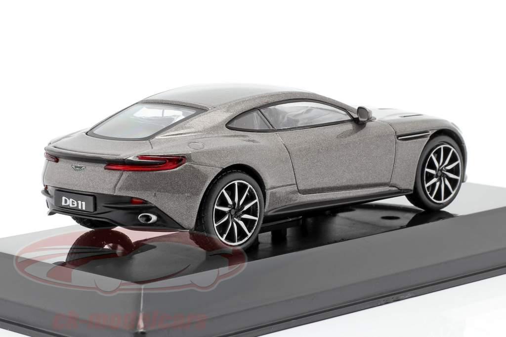 Aston Martin DB11 Año de construcción 2016 gris metálico 1:43 Altaya