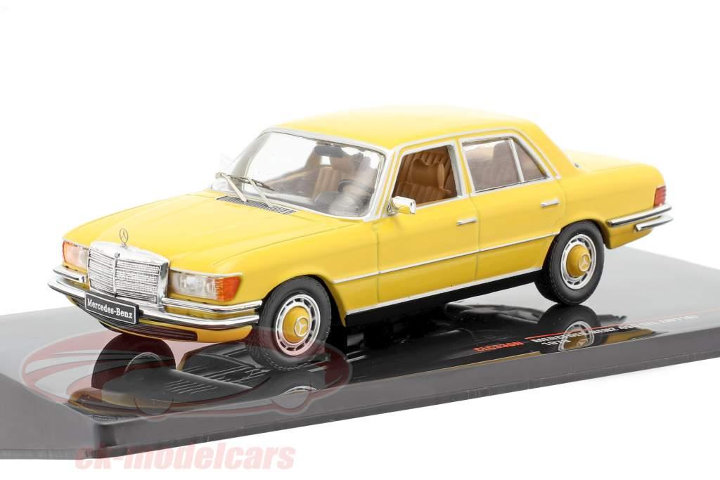 Mercedes-Benz 450 SEL (W116) Ano de construção 1975 amarelo 1:43 Ixo