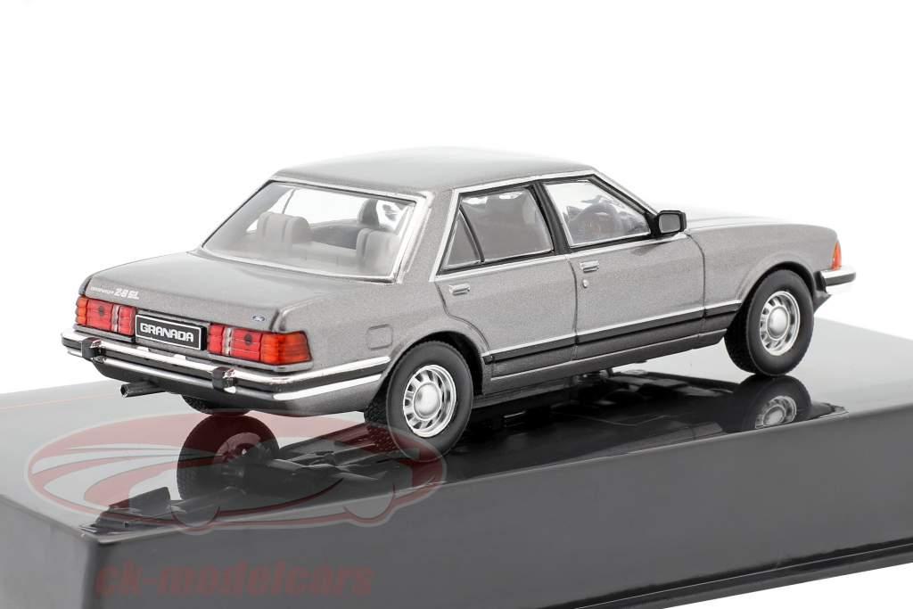 Ford Granada MK II 2.8 GL Ano de construção 1982 cinza metálico 1:43 Ixo