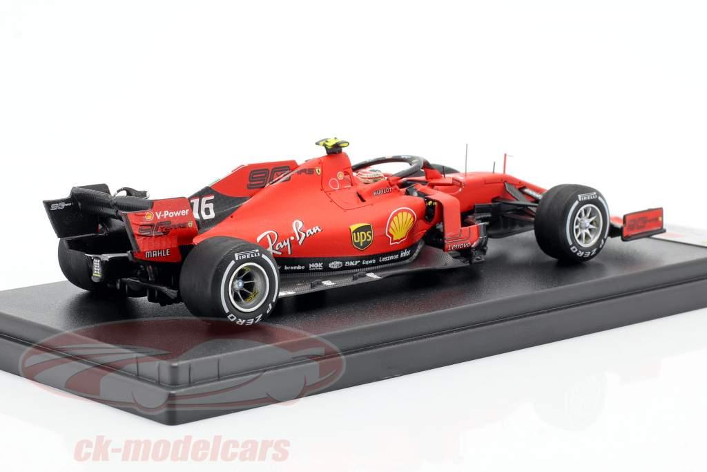 Charles Leclerc Ferrari SF90 #16 2º Cingapura GP Formula 1 2019 1:43 LookSmart