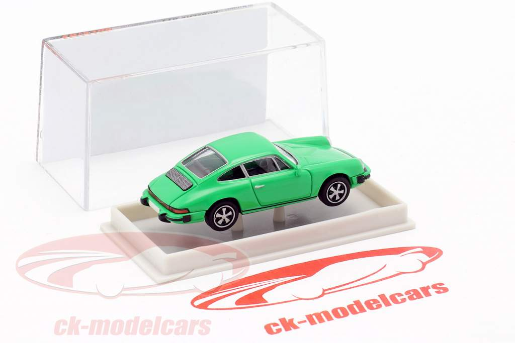Porsche 911 coupe Serie G. 1974 verde 1:87 Brekina