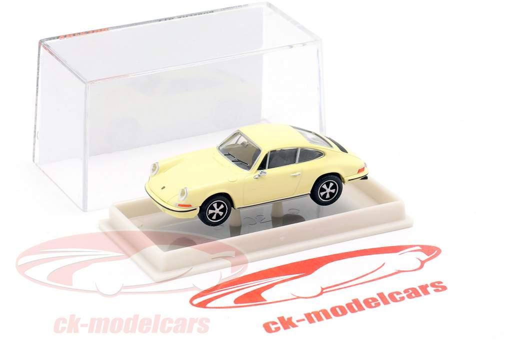 Porsche 911 amarillo claro 1:87 Brekina