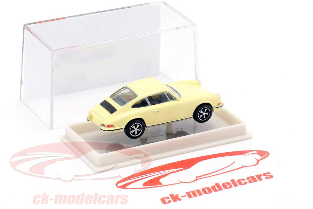 Porsche 911 amarelo claro 1:87 Brekina