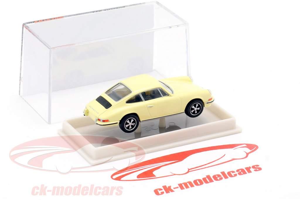 Porsche 911 jaune clair 1:87 Brekina