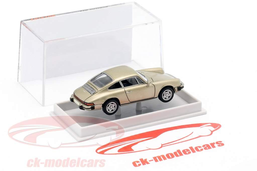 Porsche 911 coupe 1976 beige metallico 1:87 Brekina