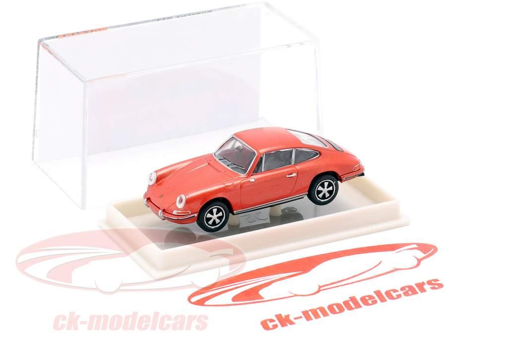 Porsche 911 F metallico rosa 1:87 Brekina