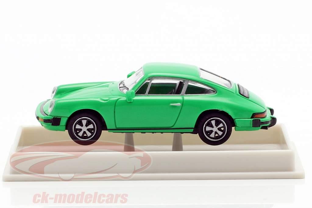 Porsche 911 Coupé Série G 1974 vert 1:87 Brekina