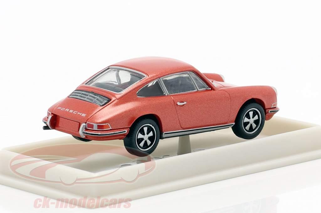Porsche 911 F metallic- rosa 1:87 Brekina