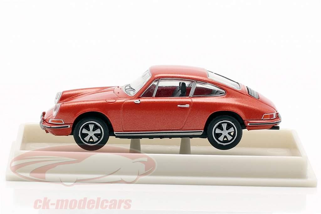 Porsche 911 F métallique rose 1:87 Brekina