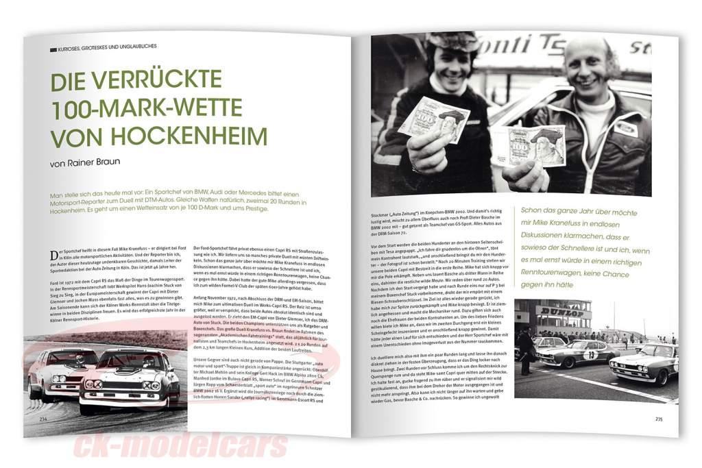 Libro: Simplemente un genial tiempo / Alemanes Campeonato de carreras 1972-1985