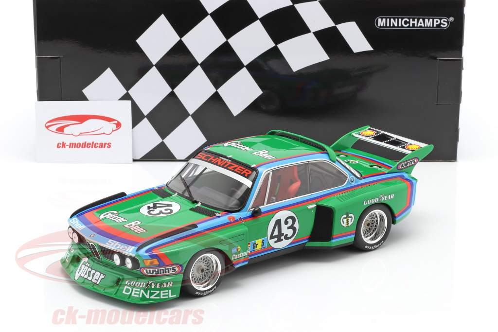 BMW 3.5 CSL #43 24h LeMans Quester, Krebs, Peltier 1:18 Minichamps