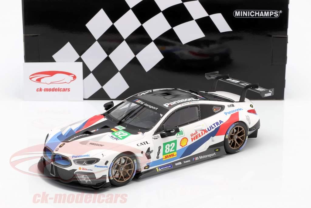 BMW M8 GTE #82 2e LMGTE Pro 6h Fuji 2018 Blomqvist, da Costa 1:18 Minichamps