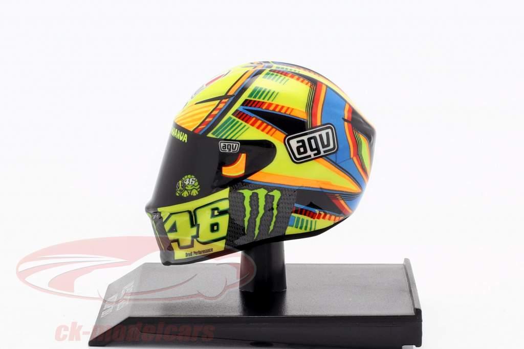 Valentino Rossi MotoGP 2013 AGV hjelm 1:10 Minichamps