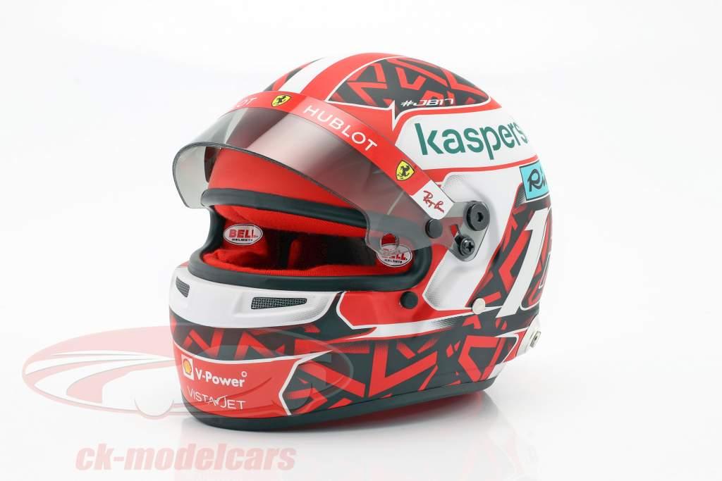 Charles Leclerc Ferrari SF1000 #16 Formula 1 2020 Capacete 1:2 Bell