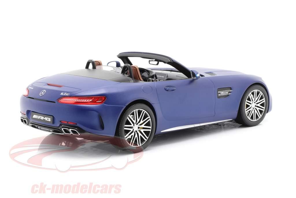 Mercedes-Benz AMG GT C Roadster brilliant blue 1:18 Norev