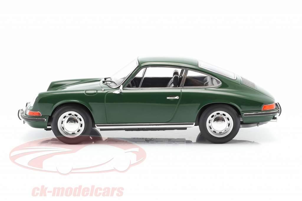Porsche 911 L Cupé Año de construcción 1968 irlandés verde 1:18 Norev