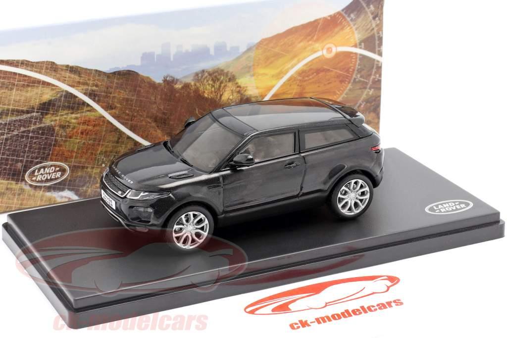 Land Rover Range Rover Evoque negro 1:43 Ixo