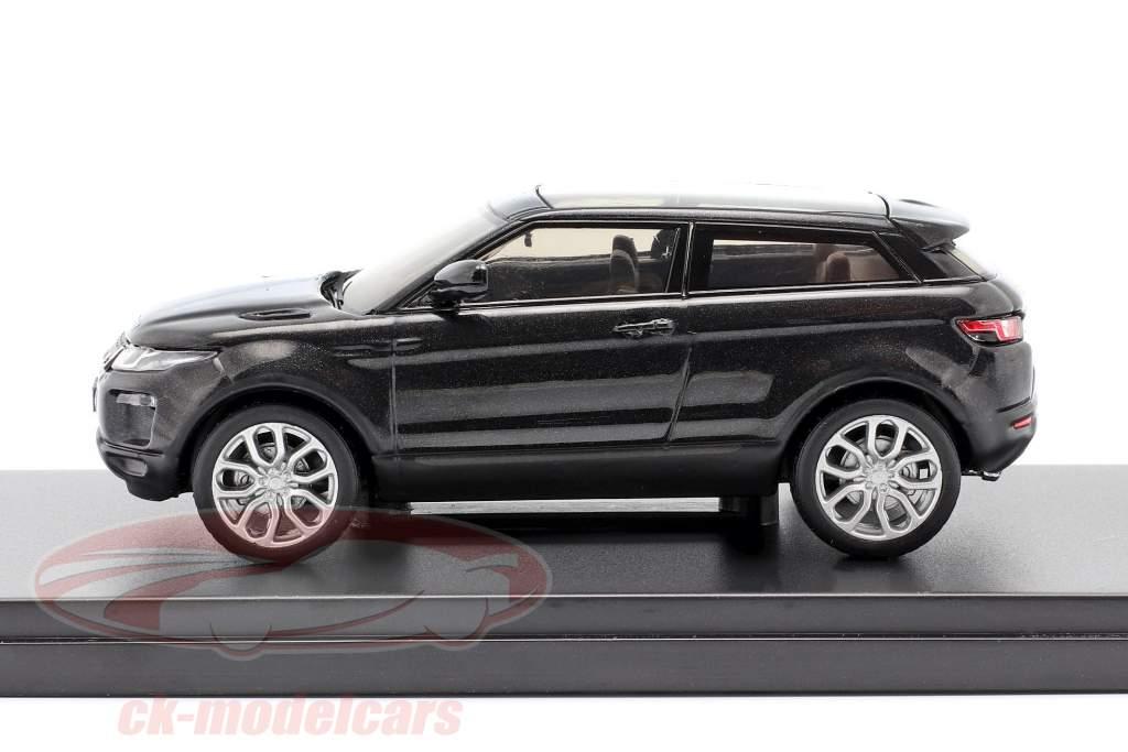 Land Rover Range Rover Evoque preto 1:43 Ixo
