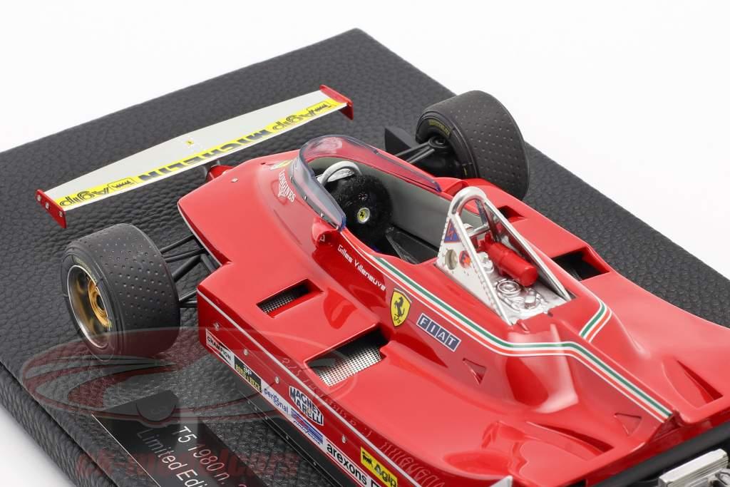 Gilles Villeneuve Ferrari 312T5 #2 formula 1 1980 1:18 GP Replicas