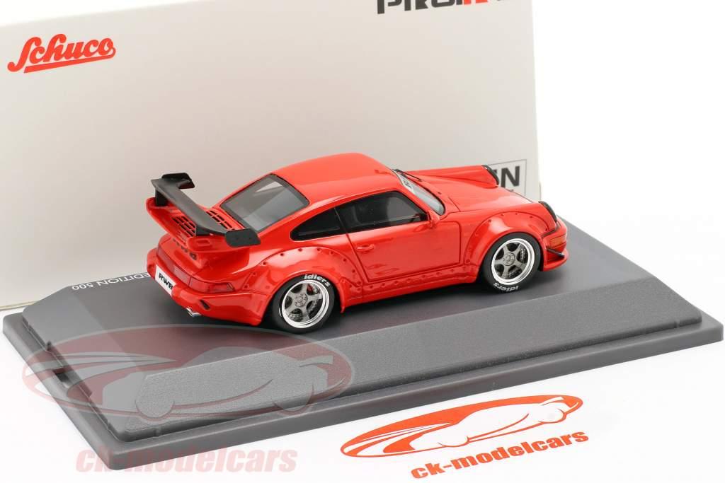 Porsche 911 (964) RWB Rauh-Welt rot 1:43 Schuco