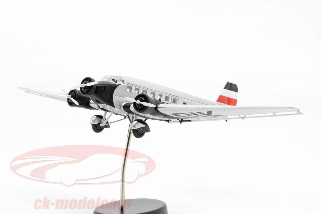 Junkers Ju52/3m Vliegtuig 1932-52 M. von Richthofen zilver / zwart 1:72 Schuco