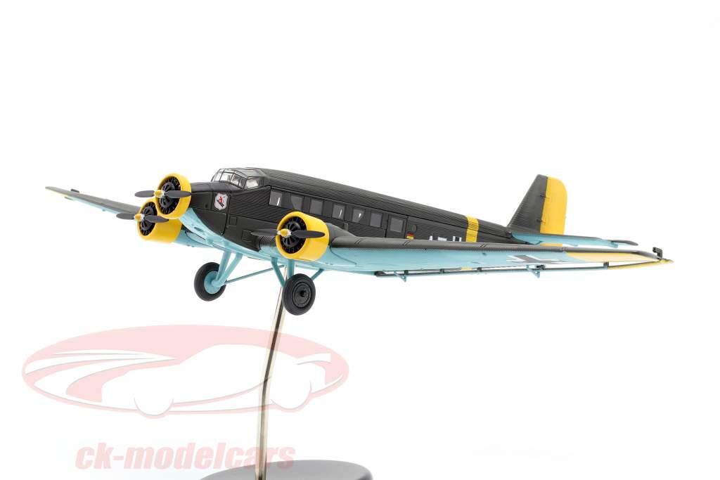 Junkers Ju52/3m fly 1932-52 A. Jean-Baptiste Salis oliven grøn 1:72 Schuco