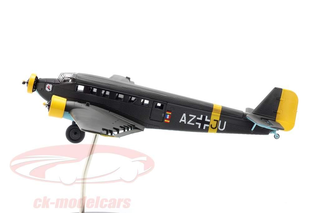 Junkers Ju52/3m Avion 1932-52 A. Jean-Baptiste Salis verde oliva 1:72 Schuco