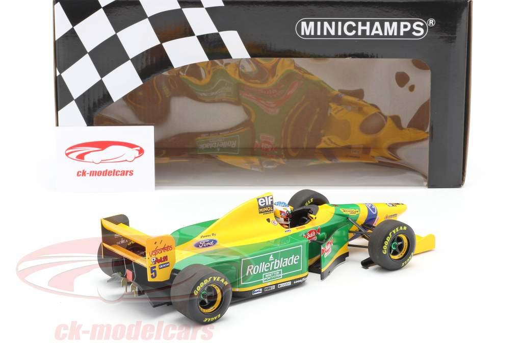 Michael Schumacher Benetton B193B #5 2 ° canadese GP F1 1993 1:18 Minichamps