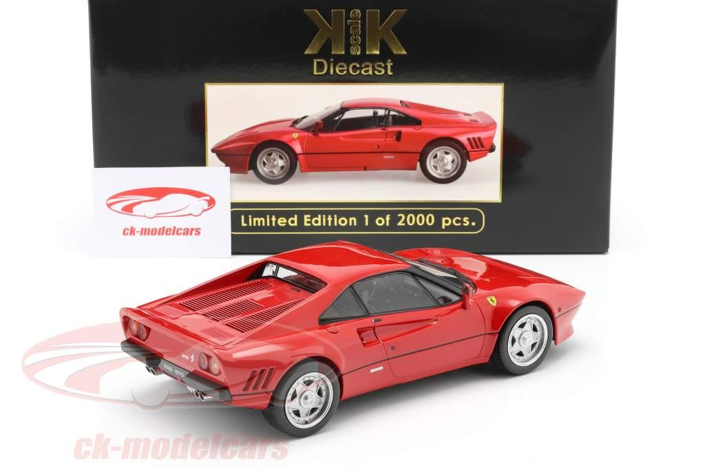 Ferrari 288 GTO Año de construcción 1984 rojo 1:18 KK-Scale