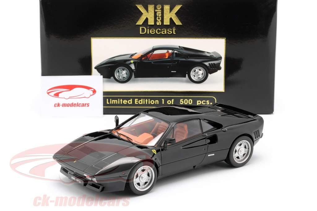 Ferrari 288 GTO Año de construcción 1984 negro 1:18 KK-Scale